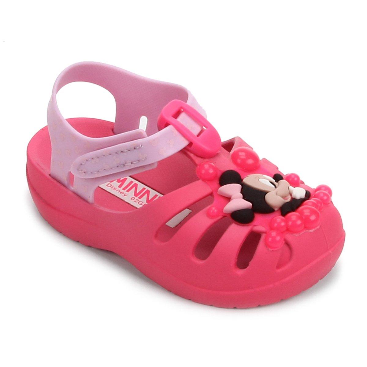 Sandália Infantil Grendene Kids Disney Minnie Sunny Day