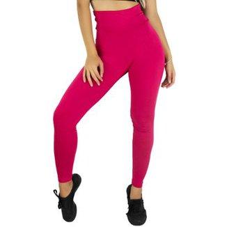 94e4954bff Calça Legging MVB Modas Cintura Alta Feminina