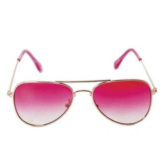 1539531f9 Óculos de Sol Khatto Infantil Aviador Station Feminino