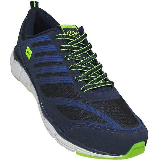 Tênis Black Free Move Masculino - Azul e Verde - Compre Agora  b02691f61010a