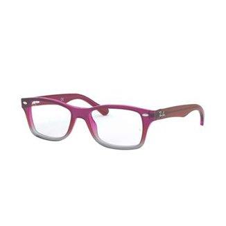 6c8cb0943 Armação de Óculos Ray-Ban RB1531 Feminina