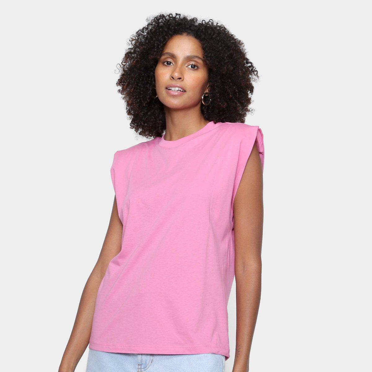 Camiseta Colcci Muscle Tee Feminina