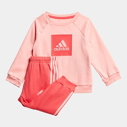 Conjunto Infantil Adidas I 3Slogo Jog Fl