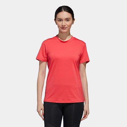 Camiseta Adidas D2M Branded Feminina