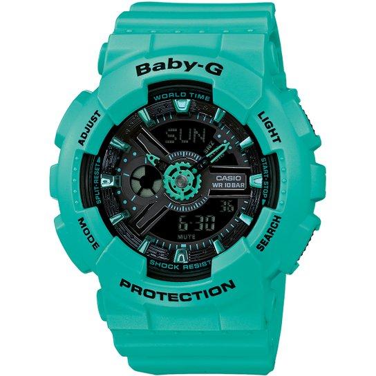 8d3e8d220f2 Relógio Baby-G BA-110-7A - Verde água - Compre Agora