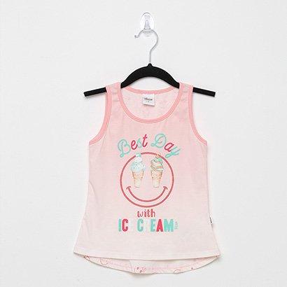 Blusa Infantil Elian Best Day Feminina