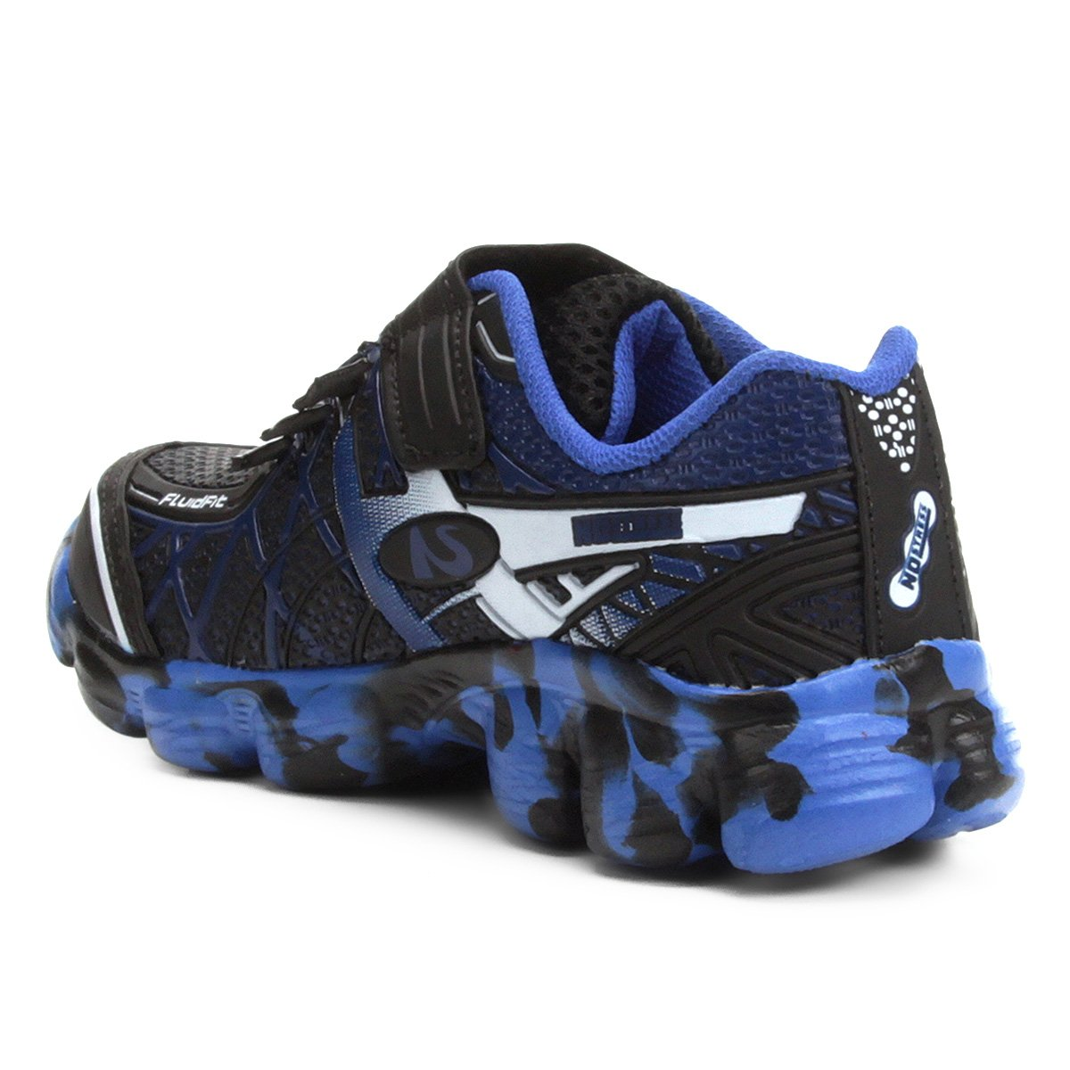 2a569d4e2c ... Foto 2 - Tênis Infantil No Stress Running Velcro