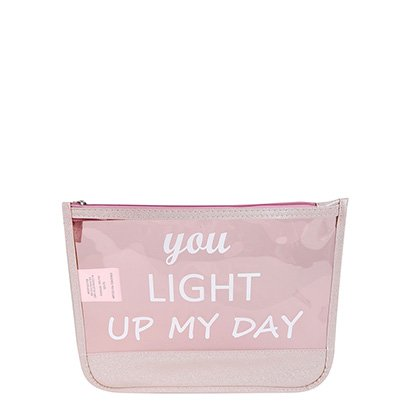 Necessaire Drezzup You Light Up My Day Feminina