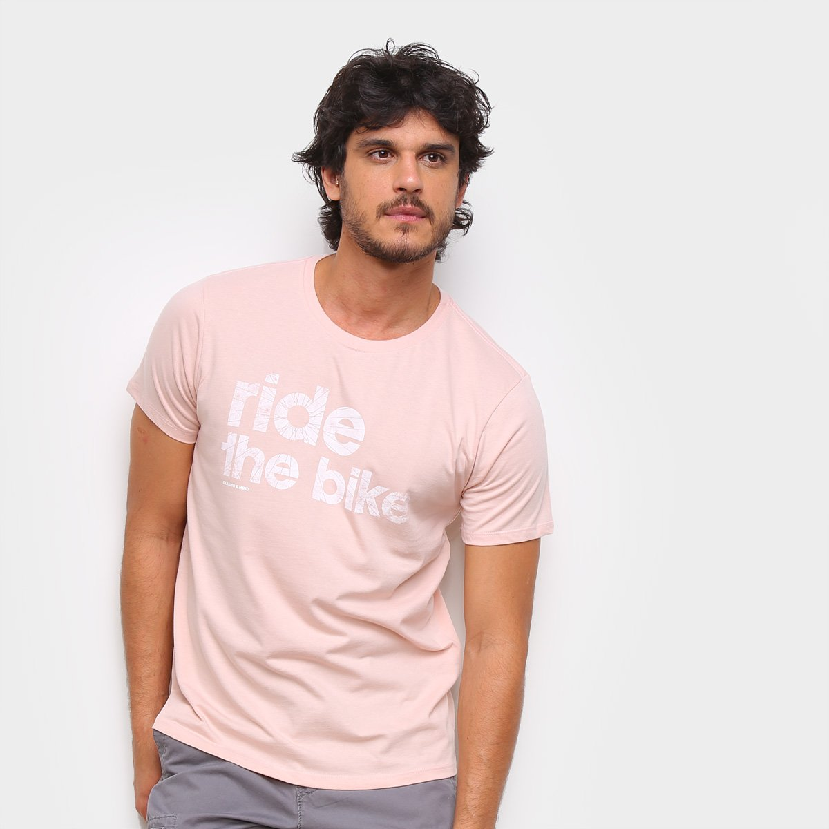 Camiseta Gajang Ride The Bike Masculina