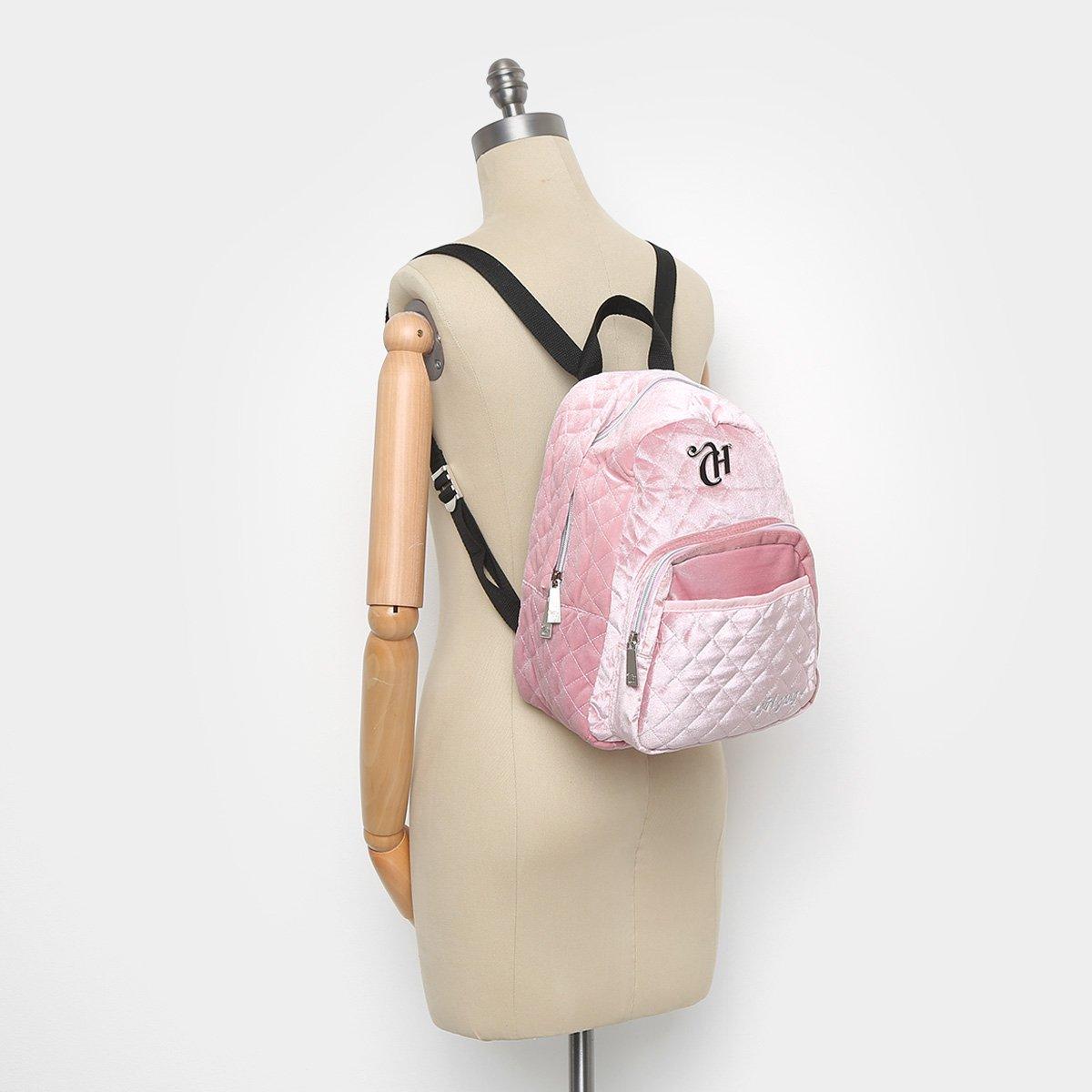 8558b2460 Mochila DMW Capricho Girl Gang Matelassê Feminina - Shopping TudoAzul