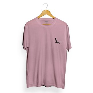 Camiseta Attack Life Lighthouse Rosa 629aadd71ce
