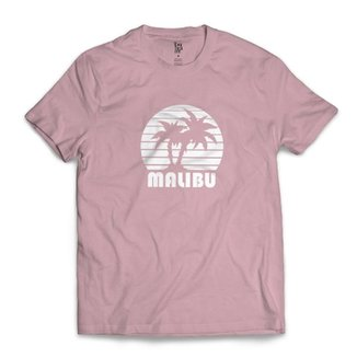 719cb4983d Camiseta Los Fuckers Malibu Rosa