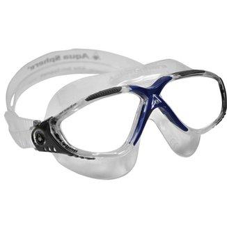 2b7efd2dd8bf0 Óculos de Natação Aqua Sphere Máscara Vista Lente Transparente