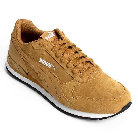 Tênis Puma St Runner V2 SD - Caramelo - Compre Agora  2b6ec781436c4