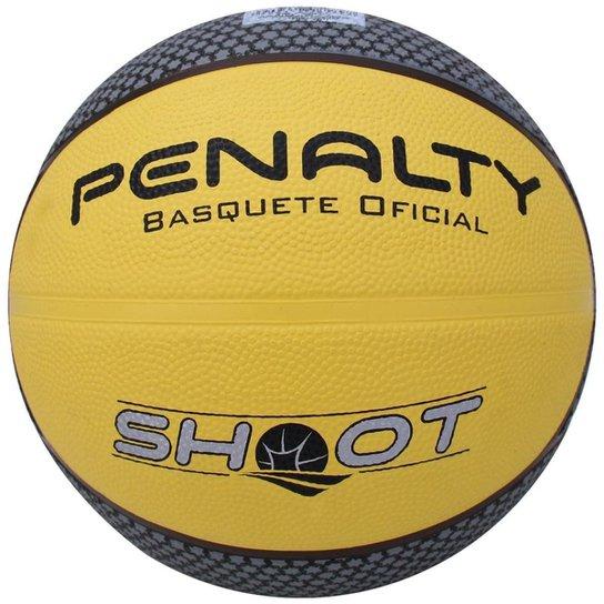 Bola Penalty Basquete Shoot NAC VI - Amarelo e Cinza - Compre Agora ... cb9f8061c3780