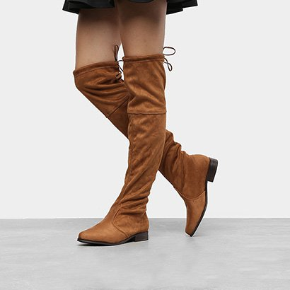 Bota Over The Knee Beira Rio Lisa Feminina