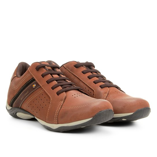 d1f3cd75a1 Sapatênis Couro West Coast Parker Masculino - Caramelo | Netshoes