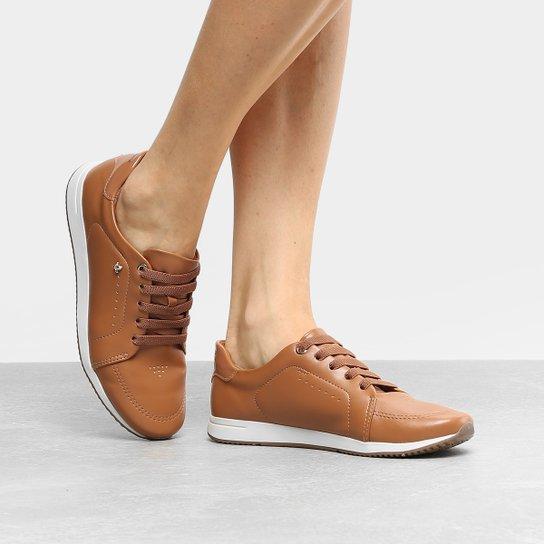 Tênis Cravo   Canela Jogging Feminino - Caramelo - Compre Agora ... 5b66e2a6065c0