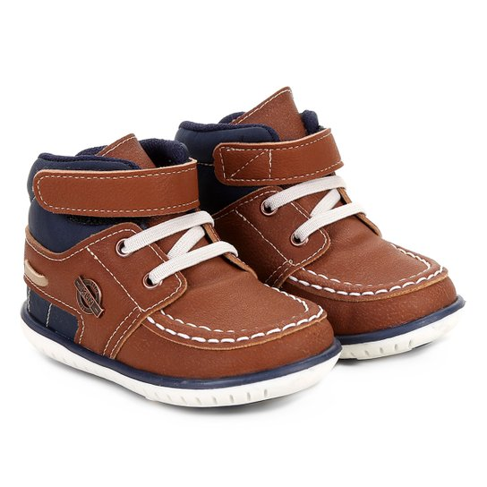 0fbdb362ad5 Sapato Infantil Klin Cravinho Cano Alto Masculino - Compre Agora ...