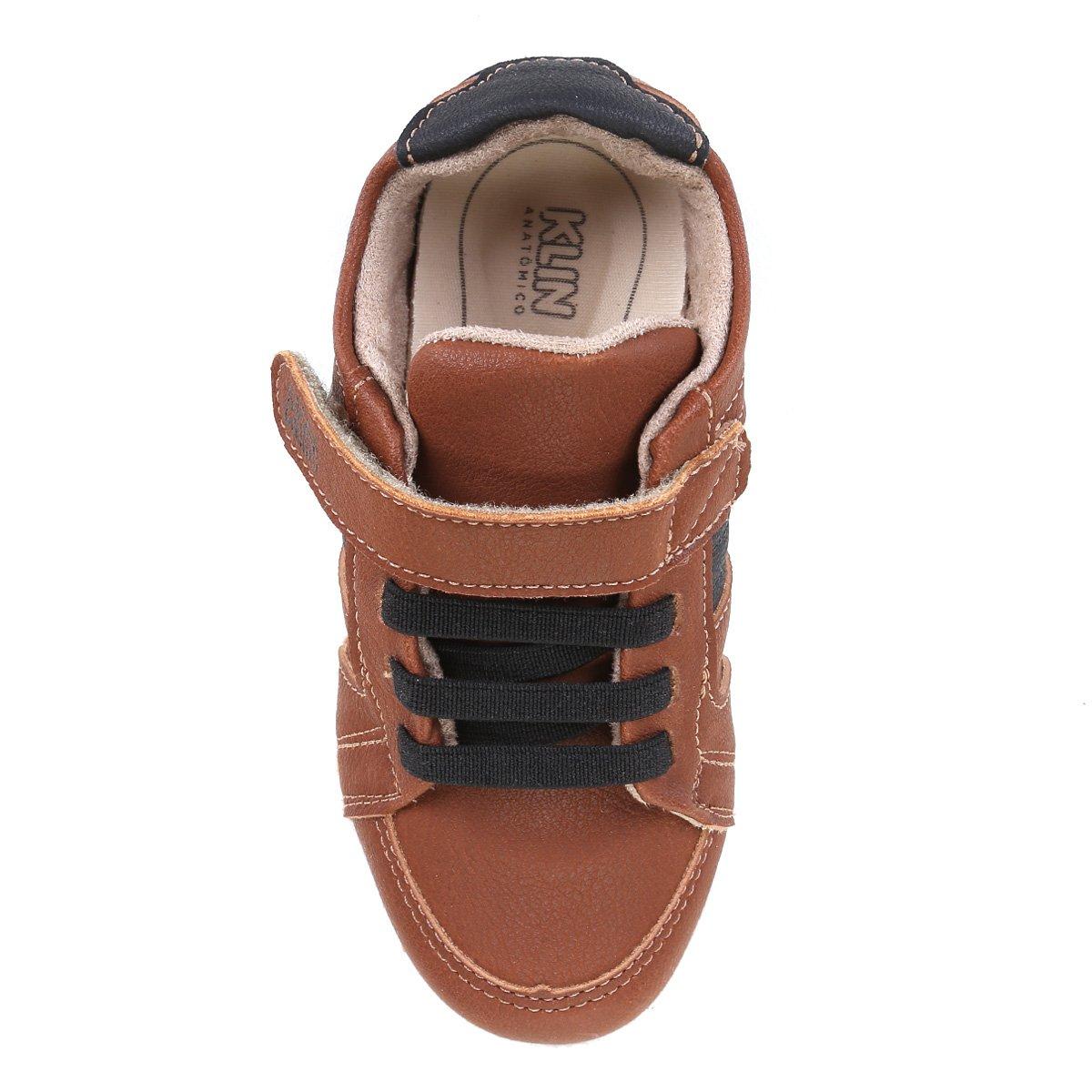1498c41a3d Tênis Infantil Klin Velcro Baby Flyer Menino - Tam: 26 - Shopping ...
