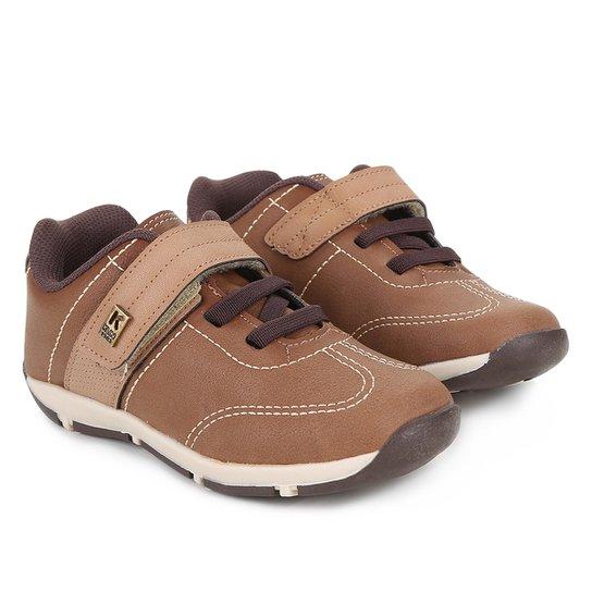 b68e8a894cb Sapato Infantil Klin Outdoor Masculino - Caramelo - Compre Agora ...