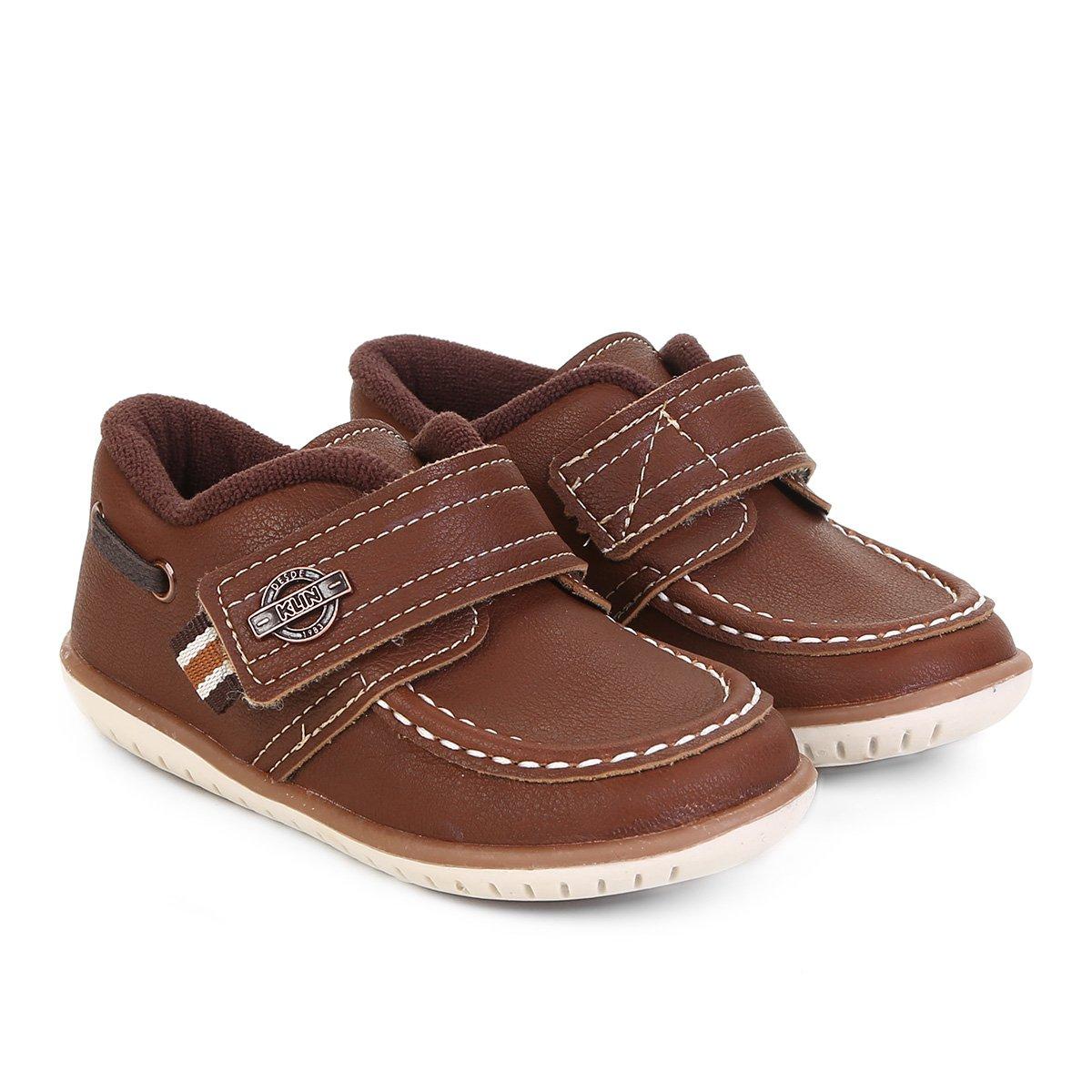 a345f165f Sapato Infantil Klin Cravinho Masculino
