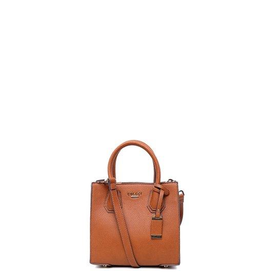 e5cf86128 Bolsa Colcci Mini Bag Estelle Elephant Feminino - Caramelo