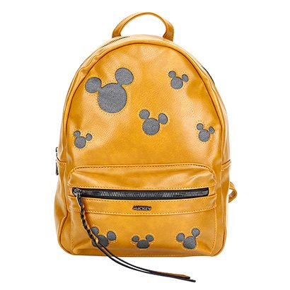 "Bolsa Infantil Mochila Luxcel Mickey Disney 13.5"" Feminina"