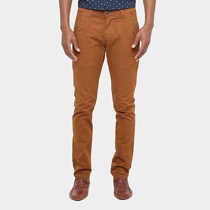 Calça Skinny Preston Color Bolso Faca Masculina