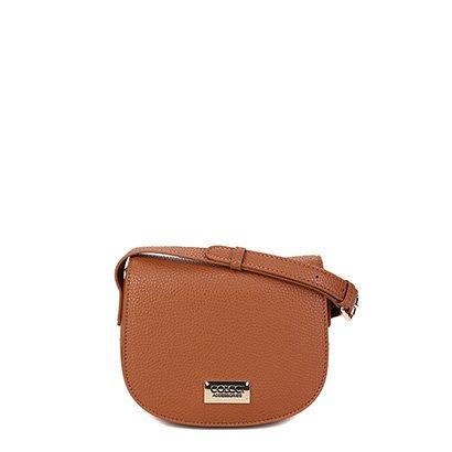 Bolsa Colcci Mini Bag Arredondada Placa Feminina