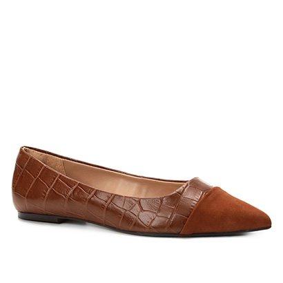 7c19dd0df7 Sapatilha Shoestock Bico Fino Straps Feminina