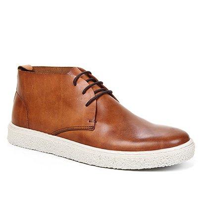 Bota Couro Shoestock Comfy Cano Curto Feminina