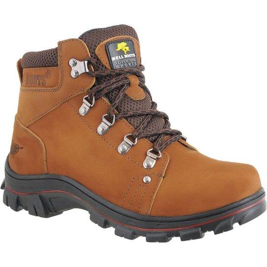 030bee8d338 Bota Adventure Bell Boots Trilhas e Caminhadas - Caramelo - Compre ...