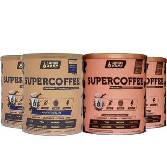 2 Un Supercoffee 2.0 220g e  2Un Supercoffee Chocolate 220g
