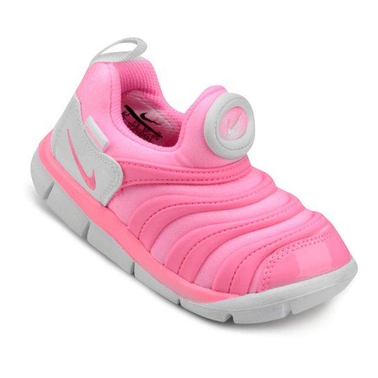 4a54d3784 Tênis Infantil Nike Dynamo Free - Branco e Rosa - Compre Agora ...