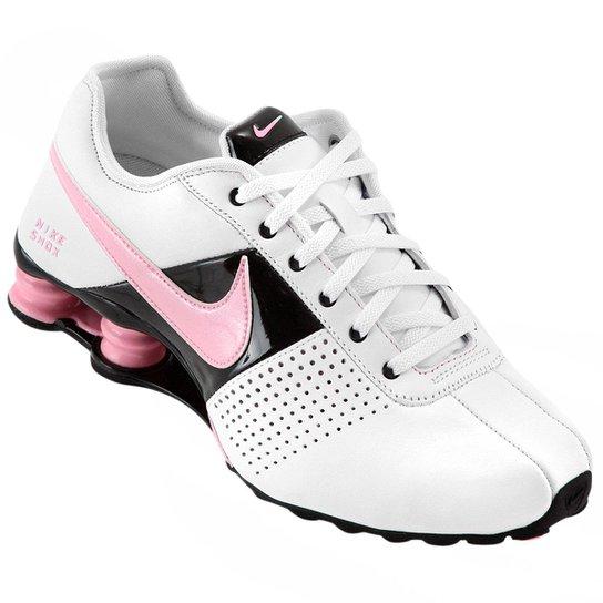 huge discount a1a63 8ff6d Tênis Nike Shox Deliver - Branco+Rosa