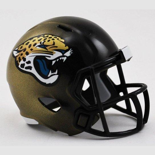 15e1be69b2f4d Mini Capacete Riddell Jacksonville Jaguars - Compre Agora