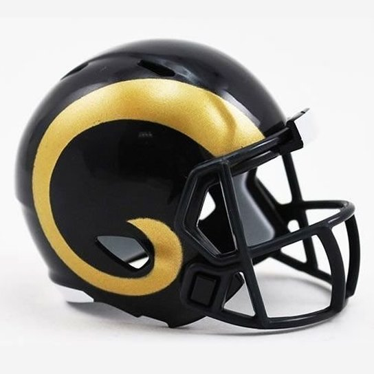 4b5689dbe8572 Mini Capacete Riddell Los Angeles Rams - Compre Agora