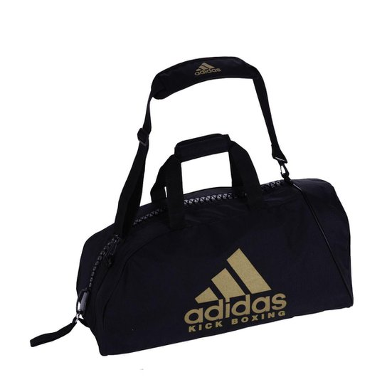 11c9631276b Bolsa Adidas Kick Boxing com Alça de Ombro em Essential 50L - Preto+Dourado