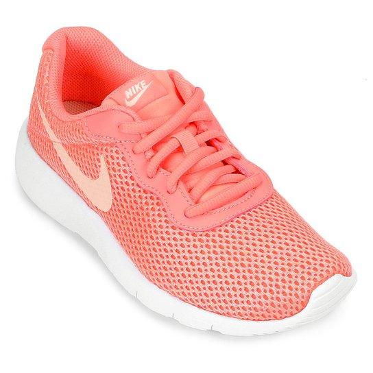 6e153ac1763 Tênis Infantil Nike Tanjun Masculino - Branco e Rosa - Compre Agora ...