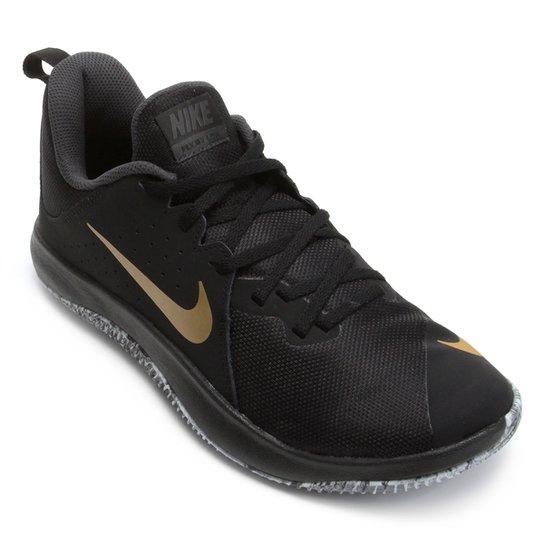 Tênis Nike Fly.By Low Masculino - Preto e Dourado - Compre Agora ... 8ef1e89f35819