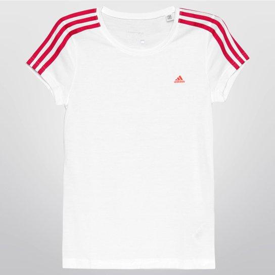 b3f9ba0e99594 Camiseta Adidas Yg Ess 3S Infantil - Compre Agora