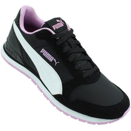 Tênis Puma St Runner V2 Nl - Preto e Rosa - Compre Agora  4e57e2ab9405c