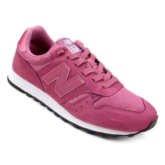 bbe9ffe1fdc Tênis New Balance W 373 Feminino - Branco e Rosa - Compre Agora ...