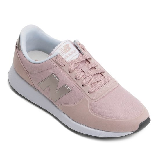 79222bbd45 Tênis New Balance 215 Feminino - Branco e Rosa