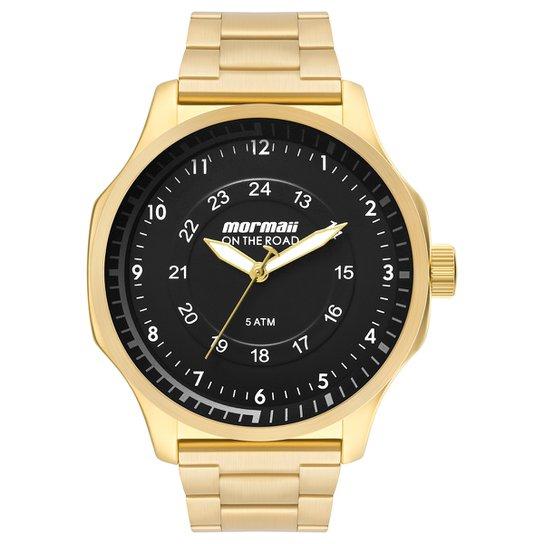 Relógio Analógico Mormaii Mo2035Gz-4D Masculino - Compre Agora ... 53b6c5c0a9e