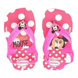 550fdab518da2 Sandália Infantil Havaianas New Baby Disney Classic