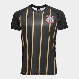 244db099dcb18 Camisa Corinthians Gold nº10 - Edição Limitada Masculina