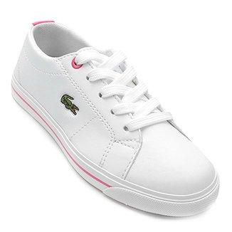 Compre Tenis Branco Lacoste Online   Netshoes 7422ea591e