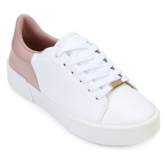 3ec9c8aeb Tênis Vizzano Bicolor Feminino - Branco e Rosa - Compre Agora